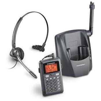 Amazon.com: Plantronics DECT 6.0 Teléfono inalámbrico con ...