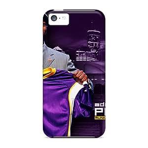 HIEQRSD3666KSTzb Nfl Adrian Peterson Viking Fashion Tpu 5c Case Cover For Iphone