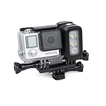 MYAMIA Impermeable Led Flash Relleno Luz Spot Lámpara para Gopro ...