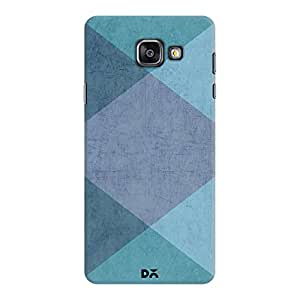 DailyObjects The Blue Triangles Case For Samsung Galaxy A7 2016 Edition