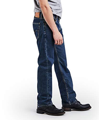 Levi's Regular Fit Jean 505 para hombres, lavado a piedra oscuro, 30x30