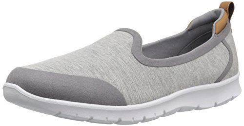 free shipping 2014 cheap discount CLARKS Women's Step Allena Lo Loafer Flat Grey Heathered Fabric outlet 100% original sale newest cheap sale pre order 9qxLSQUV