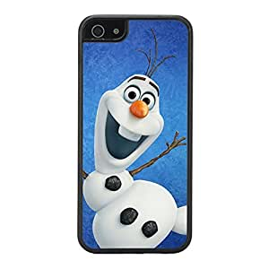 BESTER iPhone 5c Black Case - Frozen Olaf