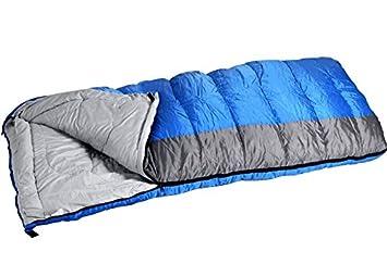 Hug Flight saco de dormir individual espesan ligero 0 Degree Rectángulo saco de dormir cálido y