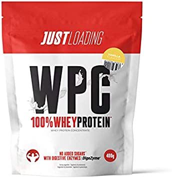 Just Loading - 100% Whey Protein Vainilla 400 g - Proteína ...