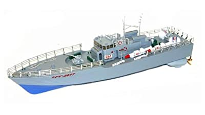 "Azimporter 19.5"" Nt-2877 Remote Radio Controlled Military Warship Aircraft Carrier Boat Toy"