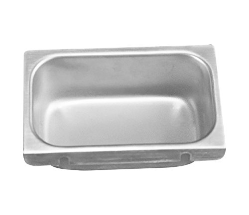 Removable Keyhole Mount Grease Cup for Restaurant Hoods - 4'' x 6 5/8'' x 4'' by Compenent Hardware (Image #3)