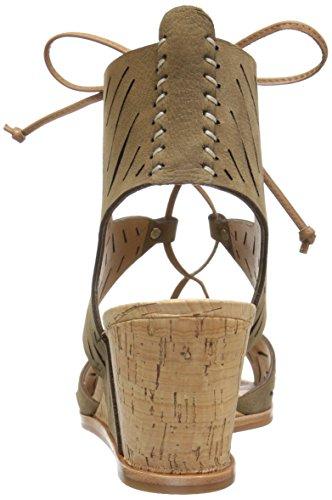 Langly Nubuck Olive Wedge Women's Vita Dolce Sandal wvqgSEw4