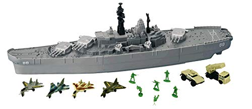 USS Giant Battleship (Lego Tank)