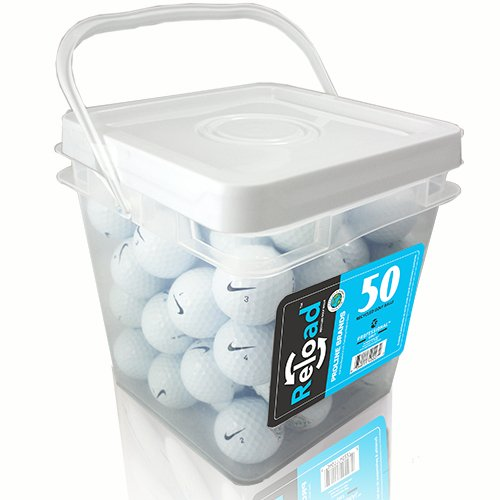 Nike Recycled Mix Golf Ball (50 Pack), White