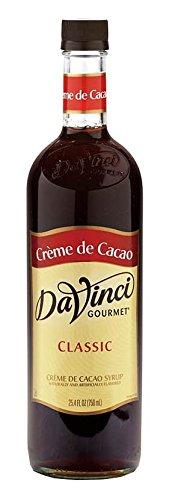 DaVinci Creme de Cacao Syrup 750 mL (Best Creme De Cacao)