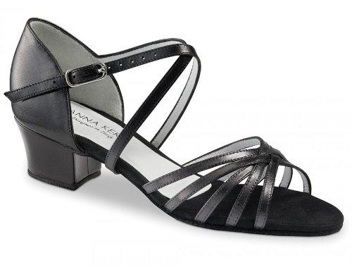 Anna Kern Women's Model 581 - 1 1/2'' (3.5 cm) Cuban Heel, 10 M US (7 UK) by Anna Kern