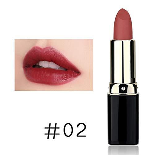 (Hennta Best Gifts for Women!!! Moisturizing Matte Sexy Lip Gloss Long Lasting Waterproof Lipstick Keep 24 Hours)