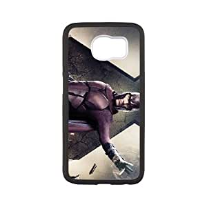 Comics Michael Fassbender as Magneto in X Men Days Of Future Past Samsung Galaxy S6 Cell Phone Case Black DIY Ornaments xxy002-9157173