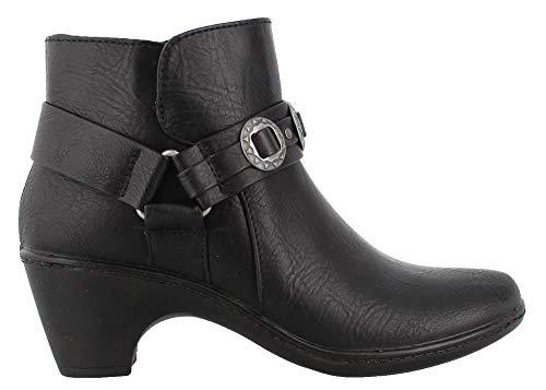 Street Easy Bailey Black Boot Ankle Women's ggUqdrwf