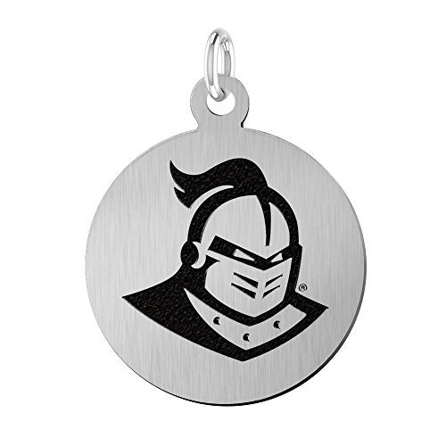 University of Central Florida Knights Laser Engraved Stainless Steel 17mm Round Charm