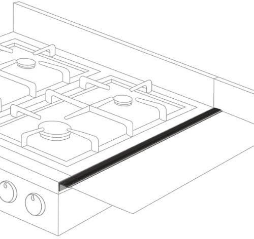 Stovetop Extender SE24BLA Oven Gap Guard (Pack of 2)