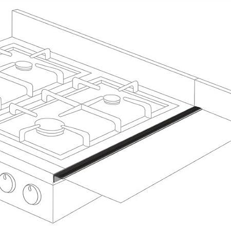 Amazon Com Stovetop Extender Se24bla Oven Gap Guard Pack Of 2