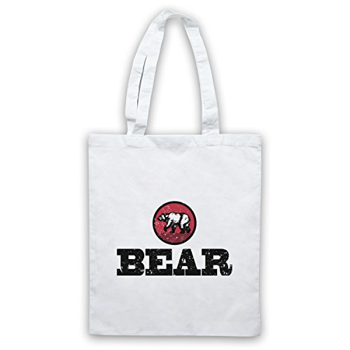 Gay Bear Sac Icon Humour My Clothing amp; d'emballage Art Blanc awHnw41q
