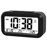 ZHPUAT Three Rings Morning Alarm Clock,L...