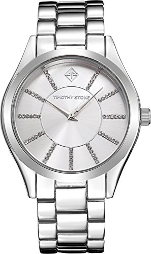 Timothy Stone CHARME STAINLESS Silver Women's Design Watch 40mm