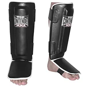 Contender Fight Sports MMA Pro-Style Shin Guards (Large)
