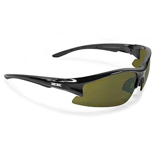 Epoch Eyewear Sunglasses - Epoch 1 - Black Frame / Green Lens
