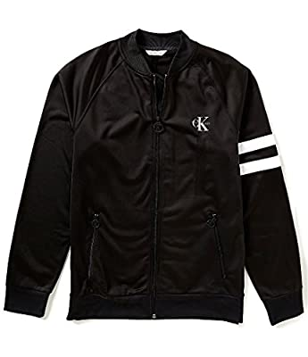 Calvin Klein Jeans Men's Full Zip Retro Track Jacket