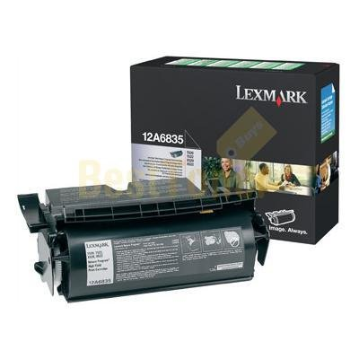 12A6835 12A7730 Lexmark T520/522 ALL-IN-ONE) Black High Yield Toner Cartridge for Lexmark Optra T520 Same as 12A6735 (12a6835 Toner Cartridge Laser)