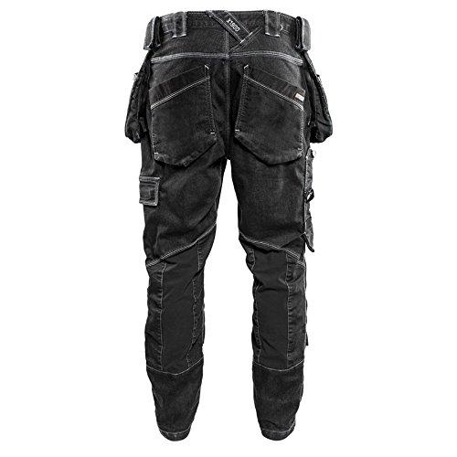 Black D88 Blaklader 199911419900D88 Low Crotch x1900 Safety Pants