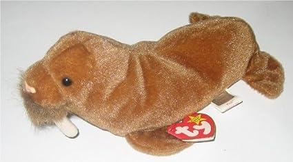 Amazon.com  TY Paul Walrus Beanie Baby Plush  Toys   Games 4e7fa9cc112
