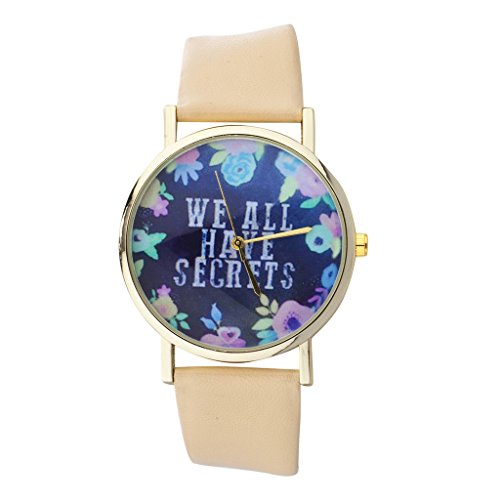 lux-accessories-gold-tone-peach-navy-floral-we-all-have-secrets-watch-face-watch