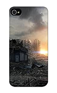 New Arrival Premium Iphone 5/5s Case Cover With Appearance (postapocalyptic City)