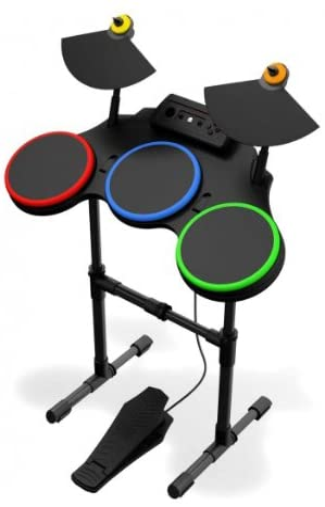Guitar Hero World Tour: Standalone Wireless Drum Controller (Xbox ...
