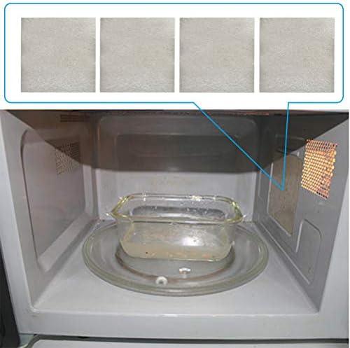 FOCCTS 4 piezas de discos de mica para hornos microondas placa de mica para reparar tostadoras en hornos domésticos (13 x 13 cm): Amazon.es