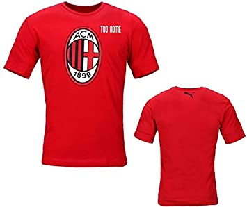 Maestri del Fútbol Camiseta Logo Rojo Niño A.C. Milan 19/20 ...