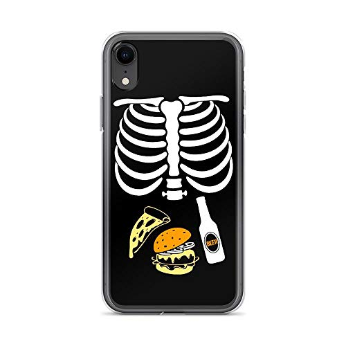 iPhone XR Pure Case Cover Halloween Skeleton Beer Tacos