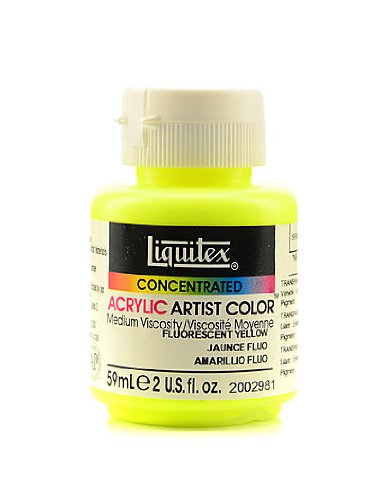 Liquitex Soft Body Professional Artist Acrylic Colors fluore