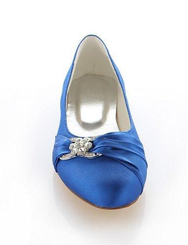 ShangYi Damenschuhe - Ballerinas - Hochzeit / Kleid / Party & Festivität - Seide - Flacher Absatz - Rundeschuh -Rosa / Lila / Rot / Silber / Royal Blue