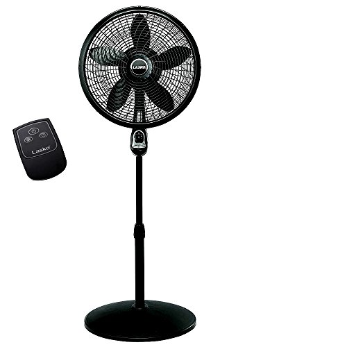 Skroutz Floor Fan 3 Speed 18 Inch Oscillating Cyclone Pedestal Stand Floor Fan (Cyclone Pedestal Fan)