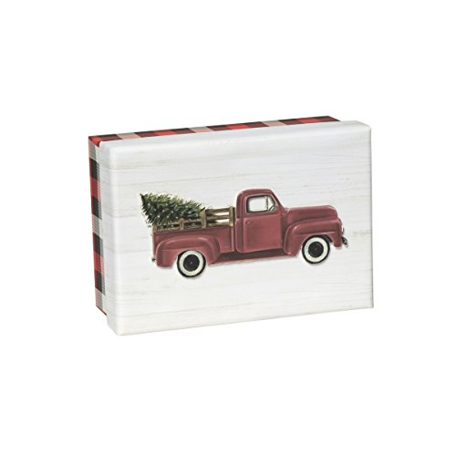 (C.R. Gibson 15-Count Keepsake Boxed Christmas Cards, Red Truck (JXB56-17488))