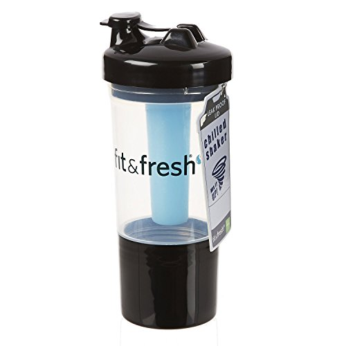 Fit & Fresh - Chilled Shaker Cup - 12 oz (style and color may vary) 2 Pack