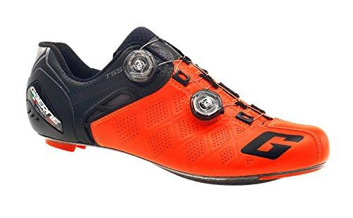 より平らな新しい意味見分けるgaerne(ガエルネ) カーボン Gスティロ+ ロードバイク ビンディングシューズ レッド 25.5cm 323601-05-255