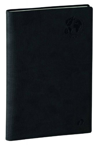 Quo Vadis Minister Weekly Calendar Diary Recycled 16x 24cm–Black janv. to Dec 2018