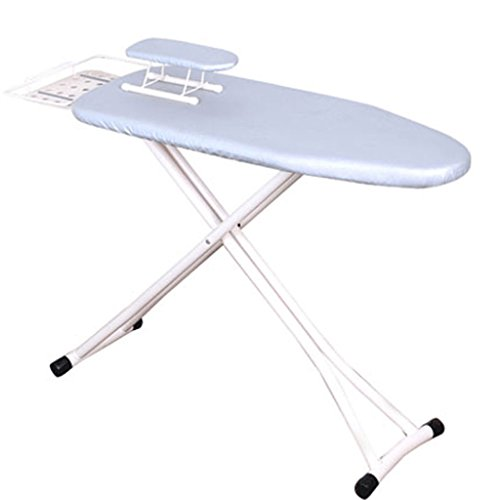 MMM Home Electric Iron Ironing Board Renforcement Foldable Large Steel Mesh Ironing Clothes Rack