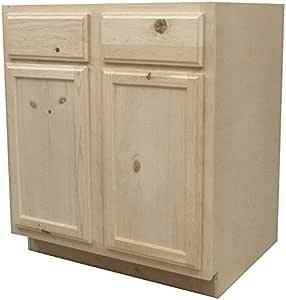 Kapal Kitchens B30 Pfp Unfinished Base Assembled Cabinet