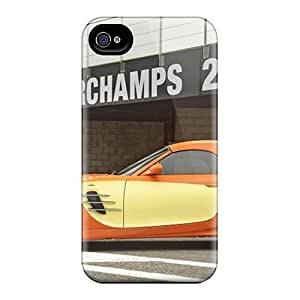 Iphone 4/4s Cases Covers Skin : Premium High Quality Orange Bmw Ac Schnitzer V8 Topster Side View Cases