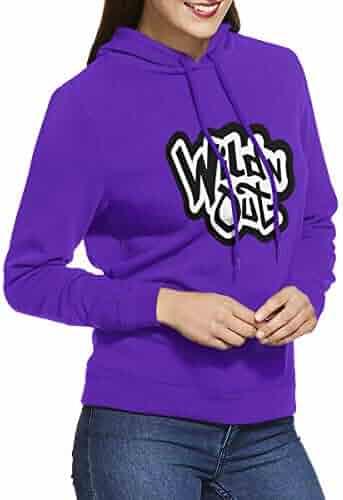 Shopping Purples Hoodies Women Novelty Clothing Novelty