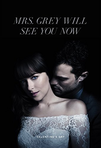 Fifty Shades Freed (2018) - 2 - 13 in x 19 in Movie Poster Flyer BORDERLESS + Free 1 Tile Magnet ()