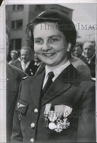 Historic Images - 1954 Vintage Press Photo Lt. Genevieve de Galard Terraoube Fren- RSA25741 ()